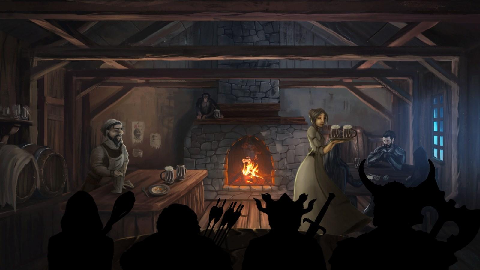 RPG old school : Dungeon Master, Eye Of Beholder, Grimrock.. - Page 6 MonkeyTavern
